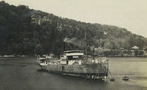 SS Islander 23rd September 1911 in Flying Fish Cove