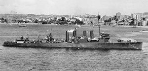 USS Whipple post 1942 Sydney Harbour