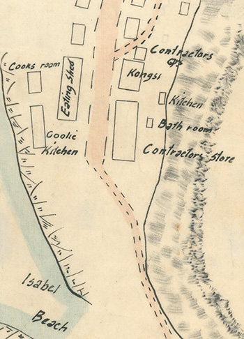 Map showing Kongsi in Settlement