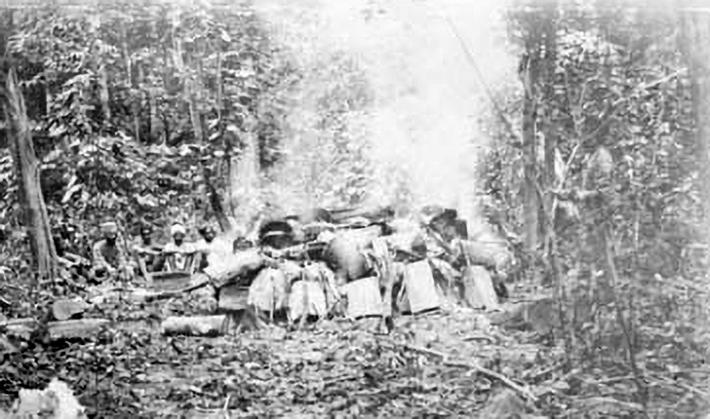 Sikh cremation 1908